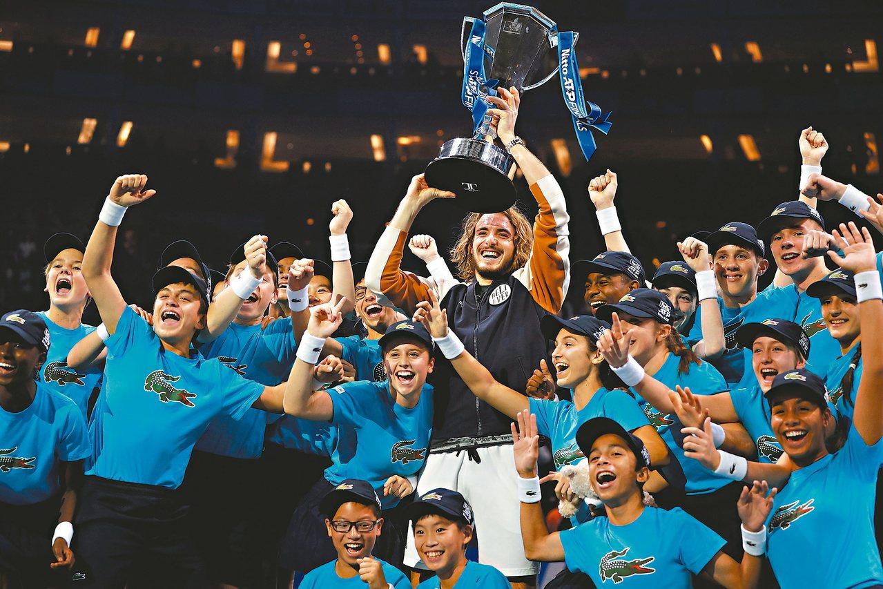 西西帕斯拿下年終大賽冠軍。 (路透)