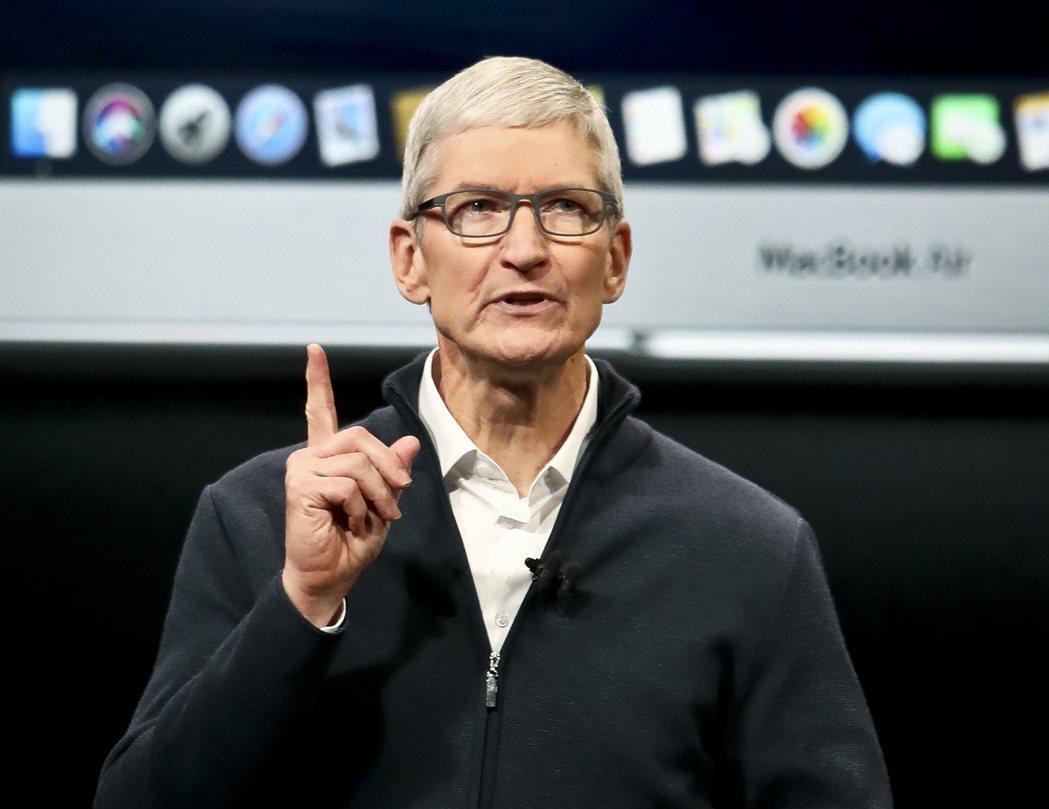 蘋果執行長庫克承諾,投資25億美元解決加州住房短缺問題。 (美聯社)