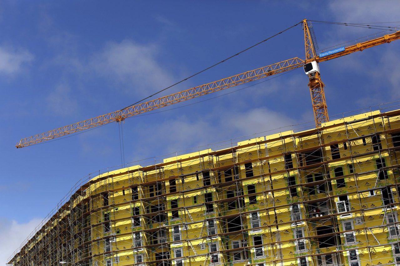 加州民主黨籍州參議員維納說,建築法規是造成住房供需鴻溝擴大的原因之一。圖為舊金山...