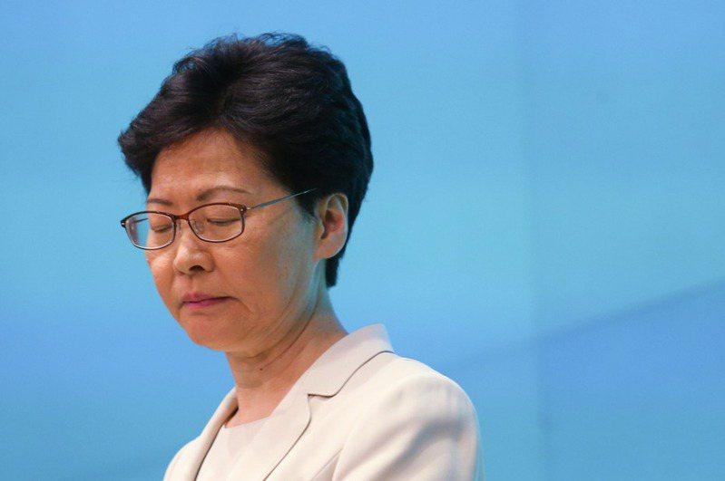 香港行政長官林鄭月娥。圖/本報系資料照片