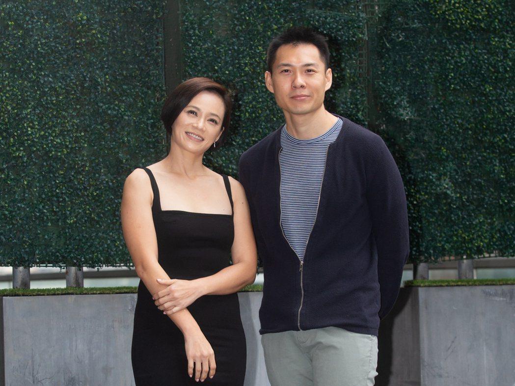 「熱帶雨」女主角楊雁雁、導演陳哲藝。記者季相儒/攝影
