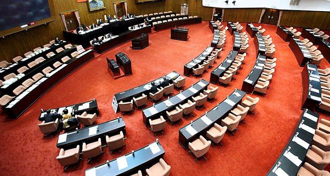 立法院。 本報資料照片