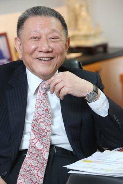 威京總部集團主席沈慶京專訪。 記者徐兆玄/攝影