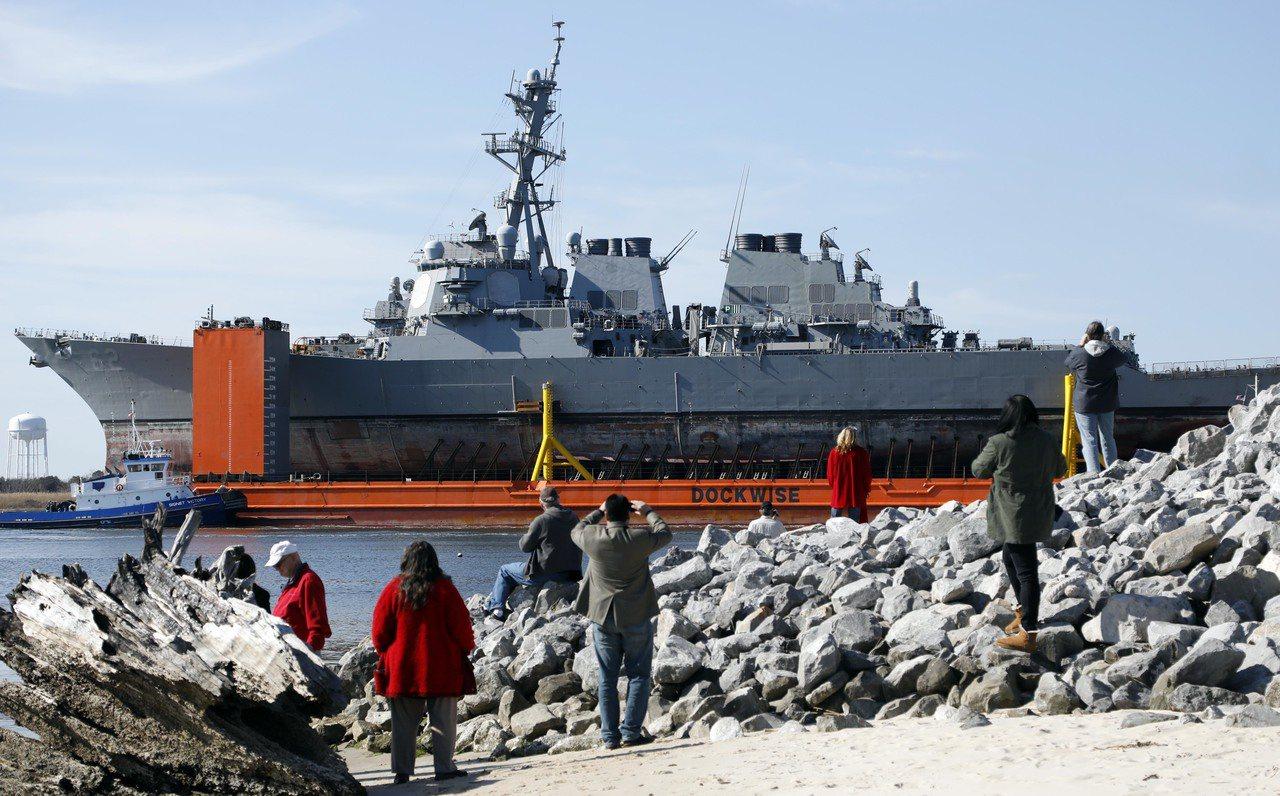 美艦「費茲傑羅號」遇難官兵家屬 向日本船東求償2.87億美元 美聯社