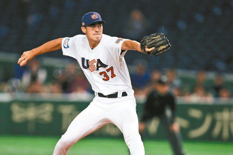 韓裔美籍投手宋恩被評為紅襪未來王牌。 中央社