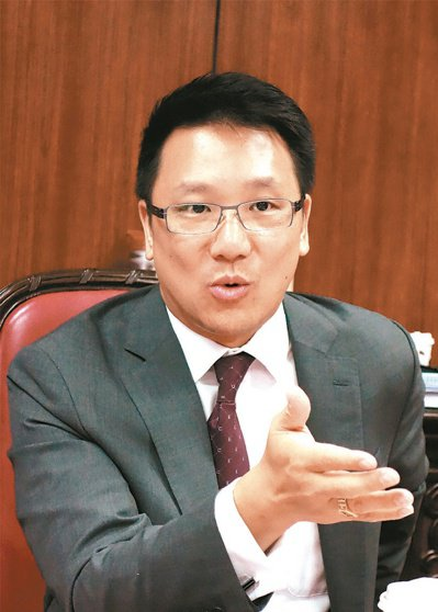 嘉泥董事長張剛綸。圖/聯合報系資料照片