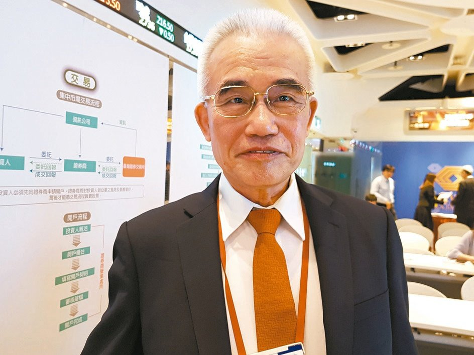 華夏副董事長林漢福。圖/聯合報系資料照片