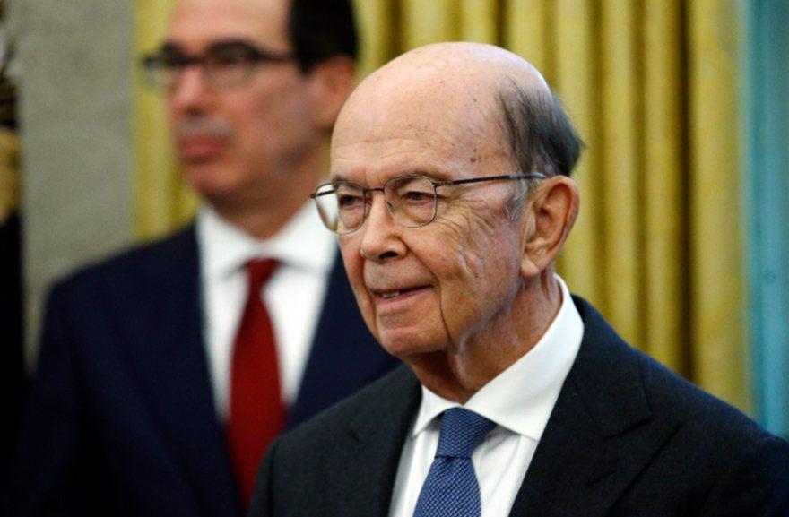 美國商務部長羅斯(Wilbur Ross)。 美聯社