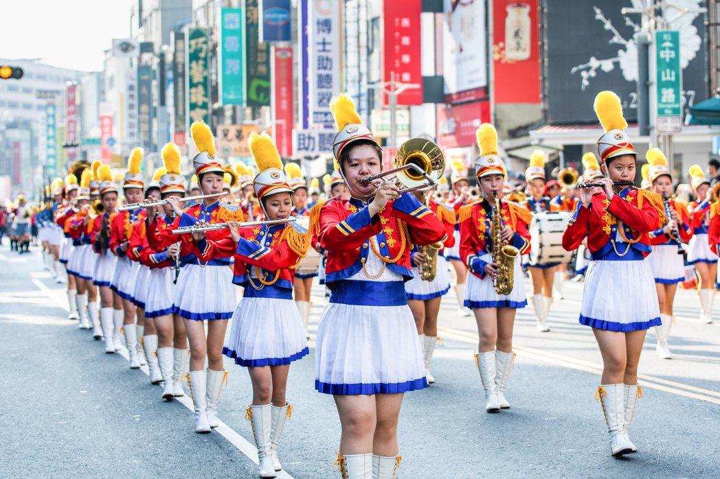 嘉義市國際管樂節可說是嘉義年度活動,也絕對是國內樂迷首選。 嘉義市政府/...