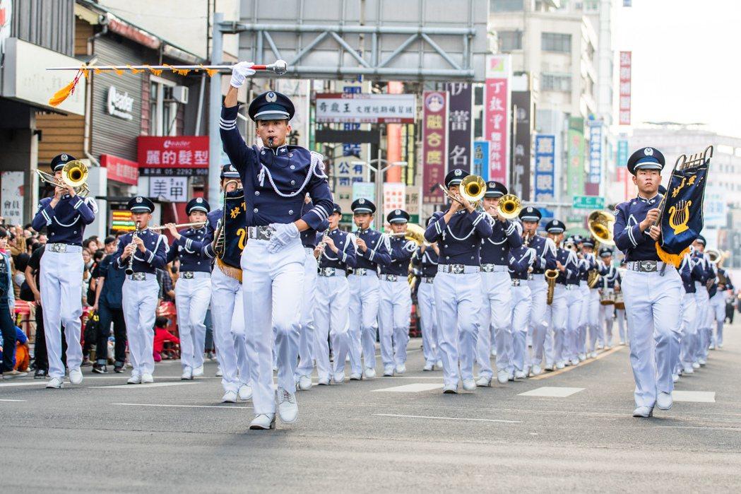 嘉義市國際管樂節可說是嘉義年度活動,也絕對是國內樂迷首選。 嘉義市政府/提供