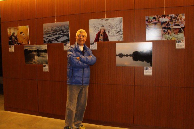 林榮祿參與攝影展。 圖/林榮祿提供