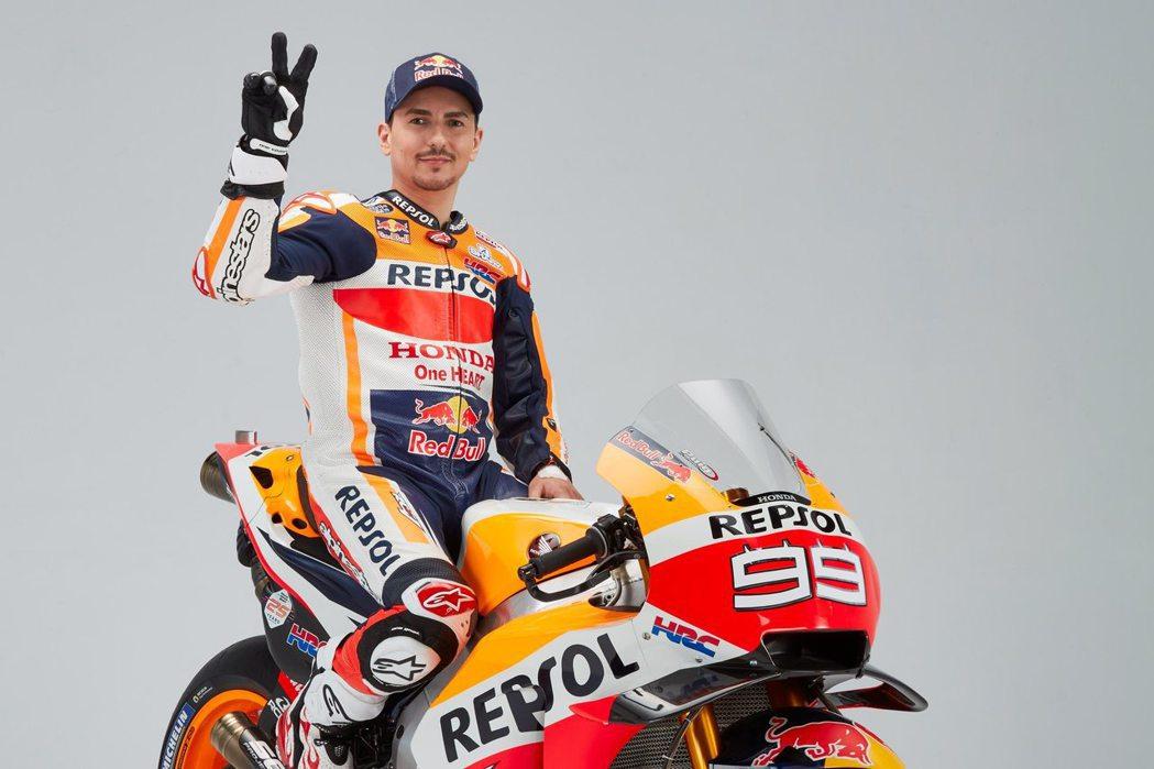 MotoGP三屆冠軍Jorge Lorenzo宣布退役。 摘自MotoGP