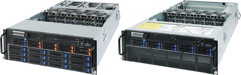 ▲G482-Z50 / G482-Z51:傑出的加速卡密度和儲存容量