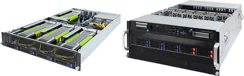 ▲G241-G40 / G591-HS0:搭載最新第二代Intel Xeon可擴...