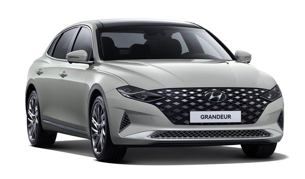 小改款旗艦房車Hyundai Grandeur。 摘自Hyundai