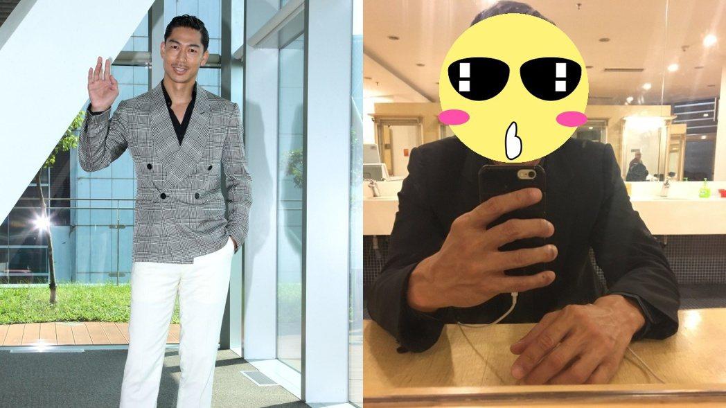 網友覺得AKIRA(左)與那維勳(右)很像。 圖/高雄電影節提供,那維勳臉書