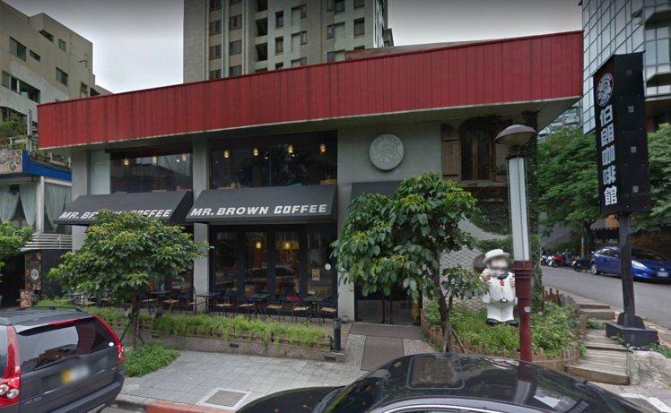 伯朗咖啡即將退出天母商圈消息,引發網友一片譁然。圖/翻攝Google街景地圖