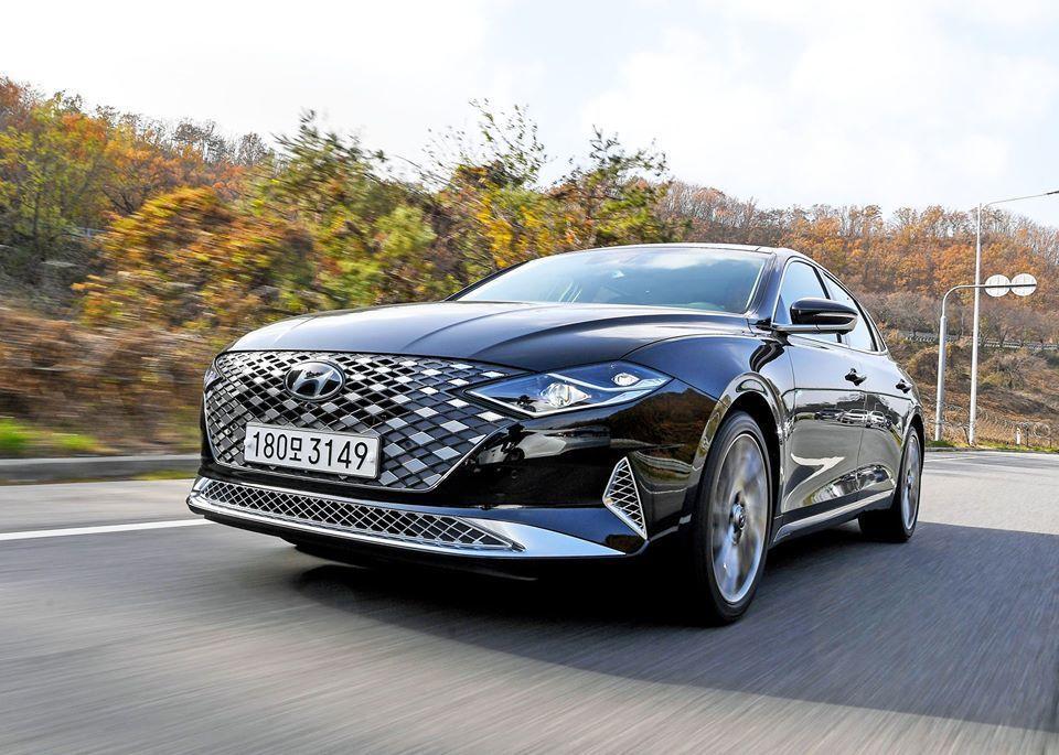 小改款Hyundai Grandeur改變非常大。 摘自Hyundai