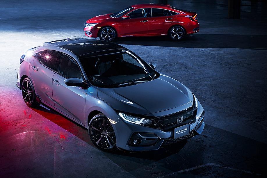 台灣市場還是盼不到!日規小改款Honda Civic車系預告發表