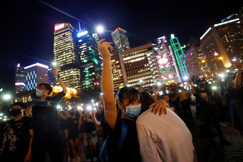 攝於8月22日,香港。 圖/路透社