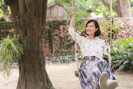 光復新村駐點的「人人好工作坊」的創辦人朱敏慈。 攝影/施純泰