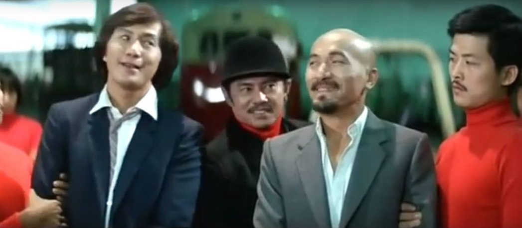 陳星(中)曾參與「光頭神探賊狀元」演出,傳兩個月前已在印尼去世,享年83歲。圖/...