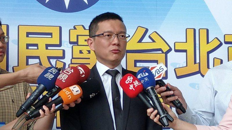 韓國瑜競選總部副執行長孫大千。報系資料照片。