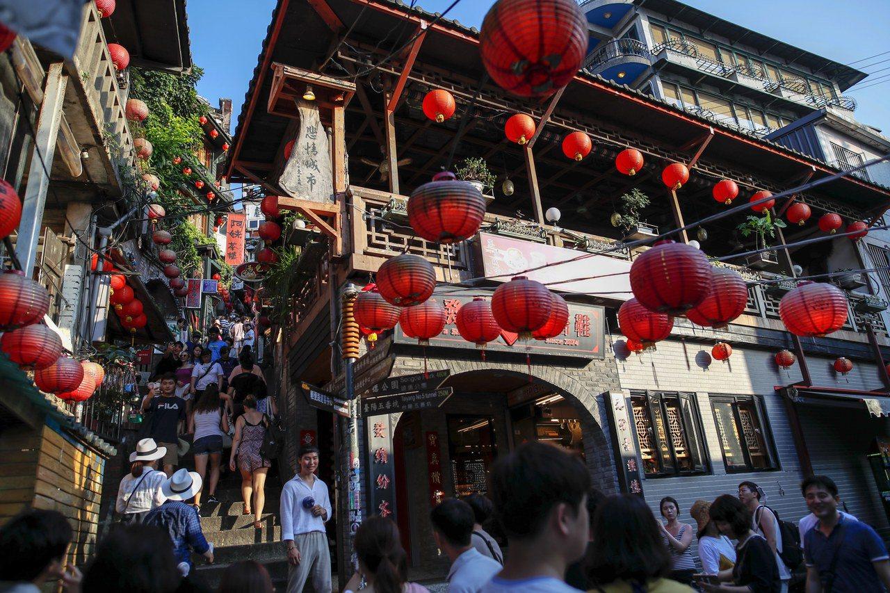 日韓貿易爭端令台灣觀光業受惠。歐新社