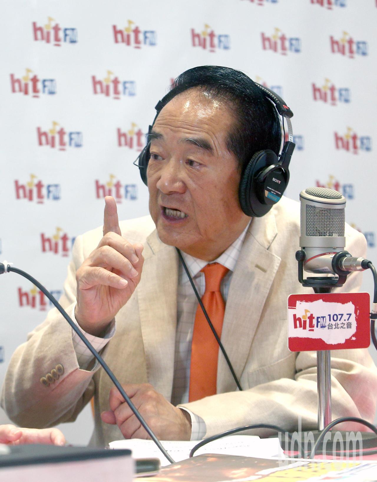 親民黨總統參選人宋楚瑜上午接受電台專訪,表示柯文哲沒有那麼明白的表達過要參選總統...