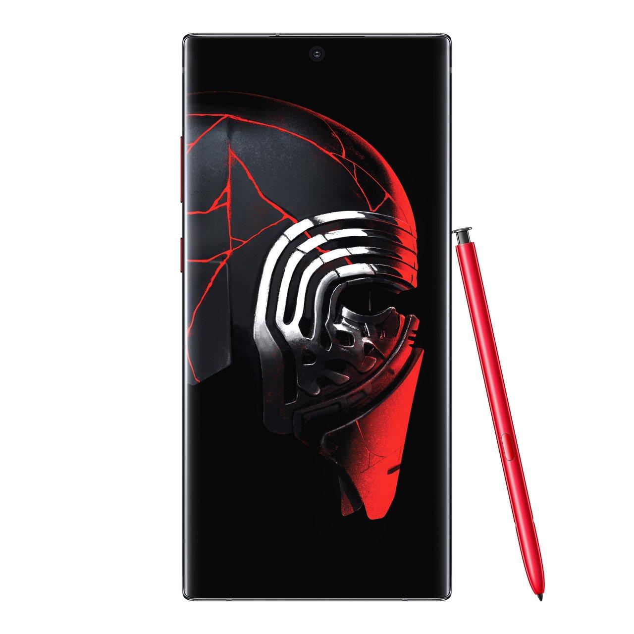 從機身設計、S Pen到桌布、音效,全都依照電影元素重新設計。圖/Samsung...