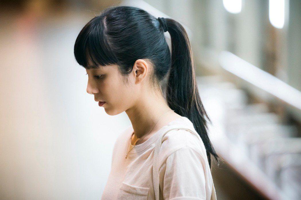 溫貞菱在「陽光普照」中戲不多卻精彩,勇奪金馬獎最佳女配角。圖/金馬獎執委會提供