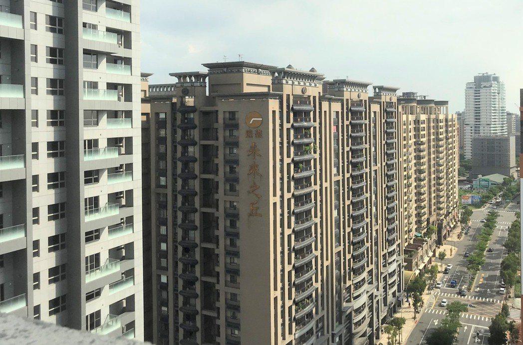 林口未來之丘的U未來、大未來,獲評選為優良社區。記者游智文/攝影