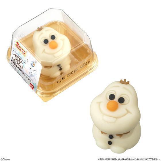 雪寶和菓子預計將於11月22日於日本7-11開始販售。圖/擷取自BANDAI官網