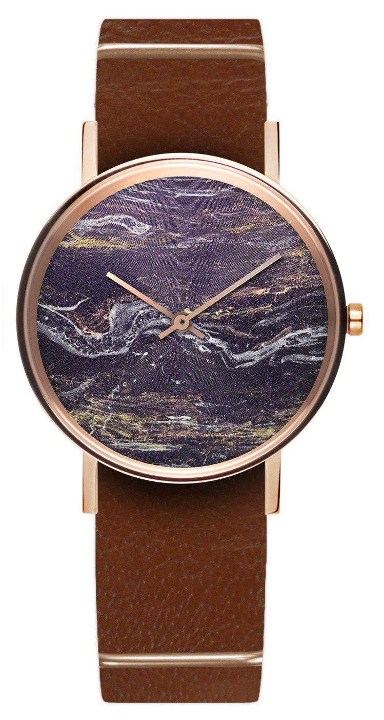 ZuWatch RUST鏽系列腕表,10,160元。圖/ZuWatch提供