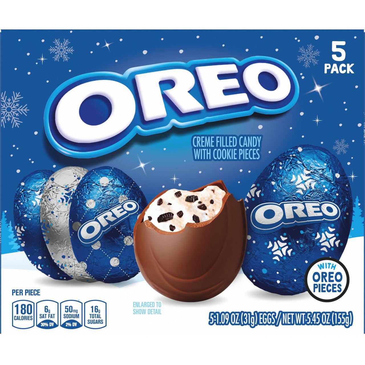 「OREO EGG」特殊蛋型設計,晉升IG最夯打卡小物。圖/取自Walmart
