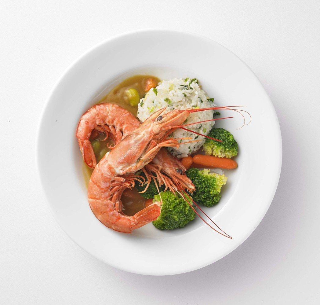 IKEA天使紅蝦香蔥飯,售價180元、11月份宜家卡友價優惠160元。圖/IKE...