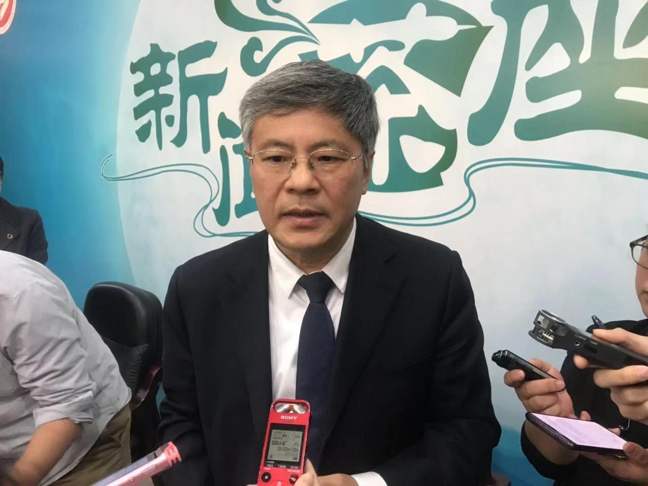 中共中央黨校副校長謝春濤。特派記者呂佳蓉╱攝影