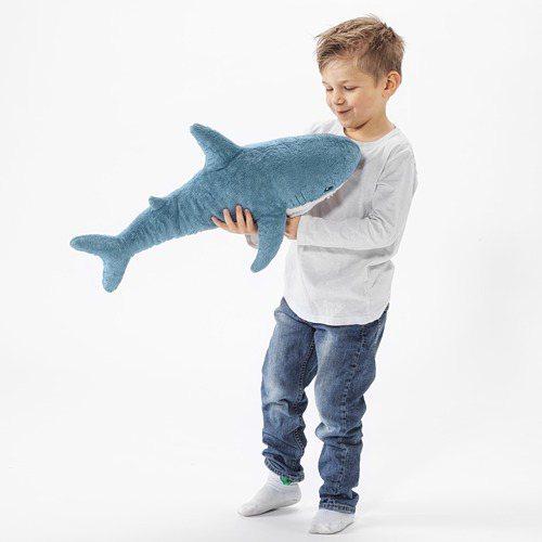 迷你版「Baby Shark」成為兒童屆新寵兒。圖/取自IKEA官網
