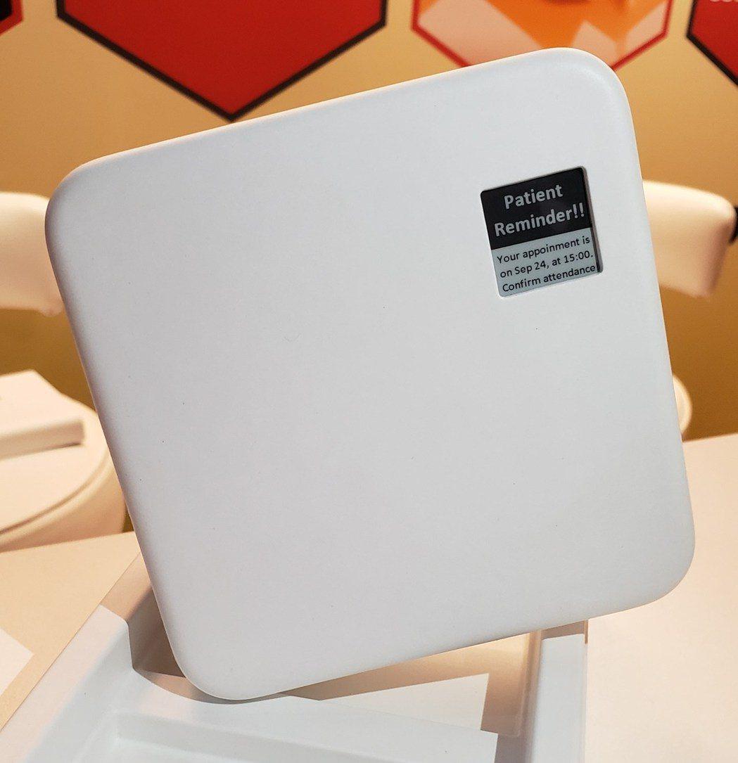 E Ink元太科技與RyPax Wing Fat合作概念性電子紙智慧藥盒包裝。 ...