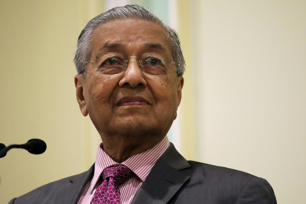 高齡94的馬哈迪健康狀況受到嚴密檢視。路透