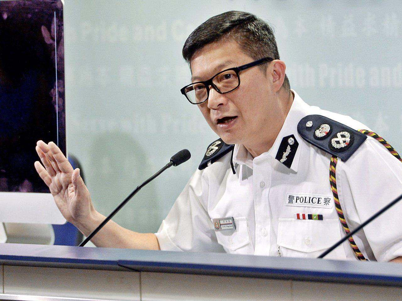 鄧炳強接受「東周刊街」專訪親述防暴策略。圖/取自星島網