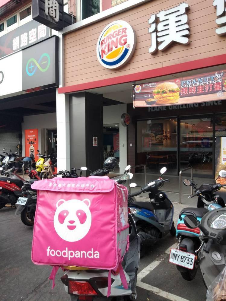 上班族最愛foodpanda 叫餐,方便又省時。記者徐力剛/攝影
