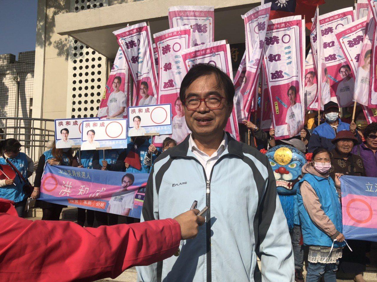 洪和成在受訪時表示,他的參選理由是:終絕政治世家世襲壟斷;改變金門選舉文化;改變...