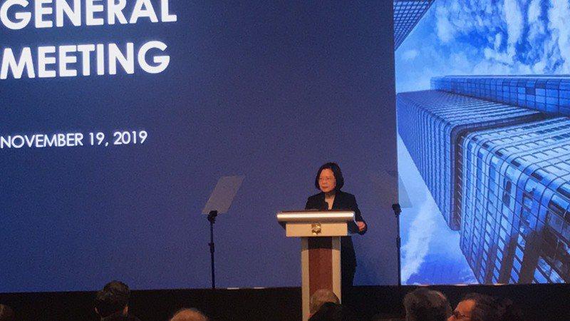 總統蔡英文今(19)日指出,台灣和美國有相同的經濟發展戰略目標,簽署台美雙邊貿易協定(BTA)是毫無疑問的首要任務。 記者林于蘅/攝影
