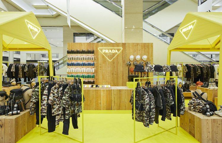 PRADA近日在首爾推出PRADA ESCAPE快閃店,以旅程、戶外和露營為主題...