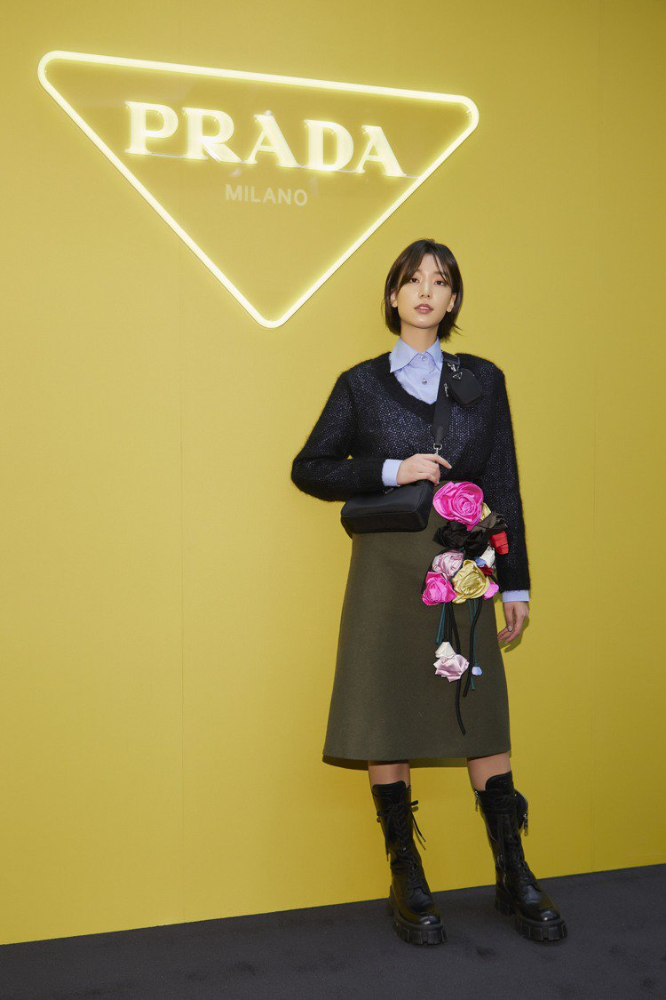 韓國超模李昊靜。圖/PRADA提供