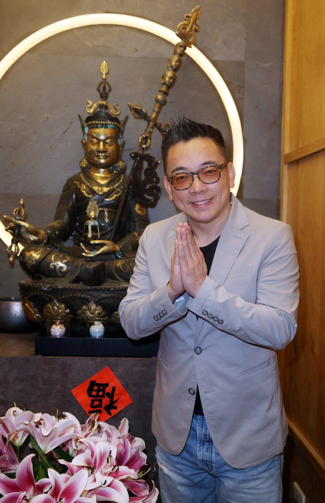 命理專家詹惟中。記者曾吉松/攝影