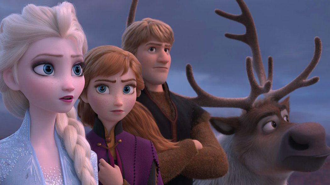 「冰雪奇緣2」繼續以兩位女主角為主。圖/摘自imdb