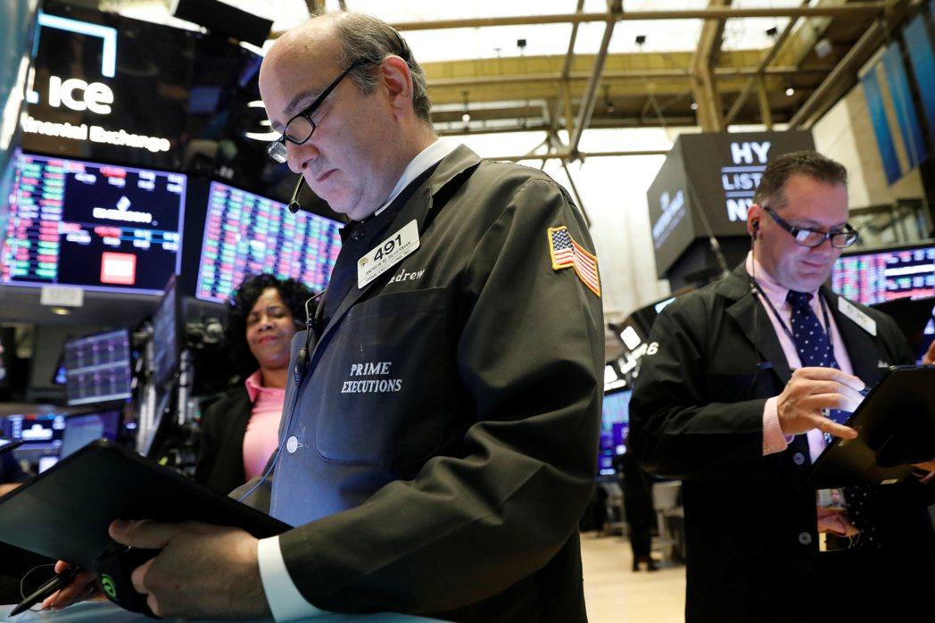 美股19日早盤由漲轉跌。    路透