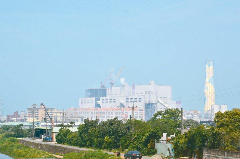 新北市預定2023年邁入無煤城市,減少空汙及溫室氣體排放量,屆時全市僅剩林口電廠燃煤。 記者施鴻基/攝影